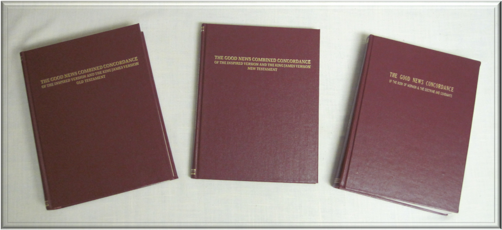 Set of 3 Concordances